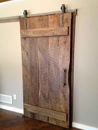 arrow style sliding barn door hardware with track included made in the usa raw steel finish