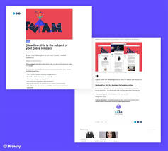 Templates For Press Releases 13 Free Press Release Templates For Any Occasion Download