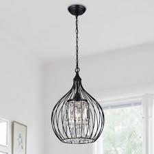 lighting 3 light pendant creative lcarus 3 light foyer pendant black wellyer 3 light