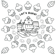 Pusheen Coloring Pages Best Coloring Pages For Kids