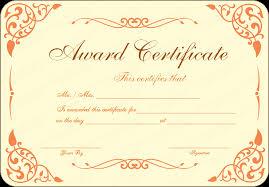 Fancy Certificate Template Award Certificate Templateformal Award ...