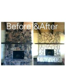 lava rock fireplace for best ideas about remodel before and after fire