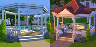 sims 2 backyard ideas. examples of gazebou0027s sims 2 backyard ideas