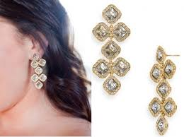 the pin get these gorgeous kate spade drop earrings from style me pretty now