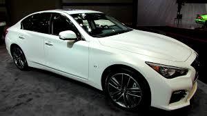 infiniti q50 exterior. 2014 infiniti q50 s awd exterior and interior walkaround chicago auto show youtube