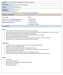 Hair Salon Receptionist Resume Pin By Ririn Nazza On Free Resume Sample In 2019