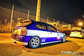 The Most Popular Scheme That Was Inspired By The Old Civic One Make Circuit Races Is This Two Toned Style This Civic From No G Japan Cars Civic Honda Civic Si