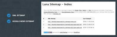 lana sitemap wordpress plugin rating