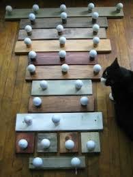 Ball Coat Rack Golf Ball Coat Rack Hat Racks Pinterest Coat racks Golf and 99