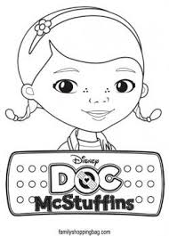 Free Doc Mcstuffins Coloring Pages Birthday Ideas Doc