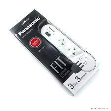 Ổ Cắm Có Dây 3M - 3 Ổ Cắm 1 Công Tắc Panasonic
