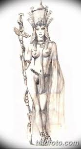 фото эскизы тату нефертити от 02102017 059 Sketches Of