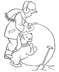 Free Printable Winter Coloring Pages For Kids Clip Art Library