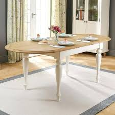 cream painted oval extending dining table 6 kitchen chairs the furniture market seater round and