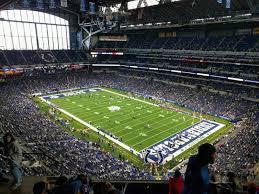 Lucas Oil Stadium Section 632 Row 7 Seat 19 Indianapolis