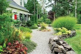 river rocks entry garden. How To Choose And Use This Easy, Plant-friendly Paving For Great Paths Outdoor Rooms - Sunset Magazine River Rocks Entry Garden L