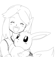 Small Picture Amazing Eevee Coloring Pages 67 For Coloring Site with Eevee