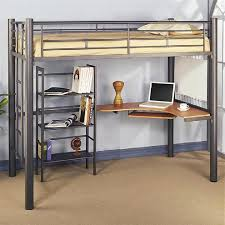 loft beds charleston storage loft bed full image for with desk instructions size metal kids