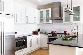 White Kitchen With Red Accents White Kitchen Cabinets With Red Accents 02535220170520 Ponyiex