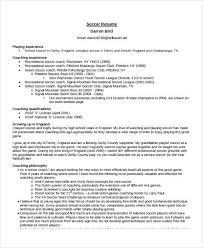 Football Coaching Resume Template Coaching Resume Template Football Coach Elegant Templates
