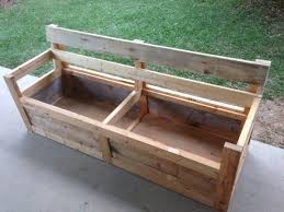 Patio Chair & Storage Box Made With Pallets. Shipping PalletsChair  BenchPallet ...