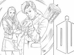 Small Picture Coloring pages doctor who 20 free printable doctor who coloring