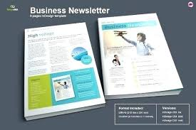 Newsletter Templates Pages Best Newsletter Templates Free Premium One Page Email