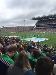 Croke Park Section 329 Home Of Dublin Gaa