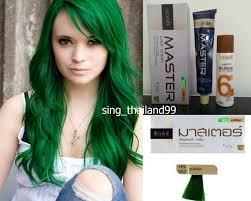 Green Hair Dye Permanent