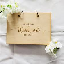 Sign Book For Wedding Us 17 99 Custom Wood Wedding Guestbook Lettering Sign Book Personalised Wooden Wedding Gift Supplies In Signature Guest Books From Home Garden On