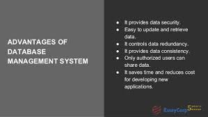 database assignment help 6 advantages of database