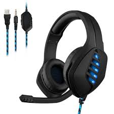 <b>J1 Gaming Headset</b> for PS4 Xbox One Computer Game Headphones