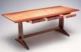 design and build a diy trestle table build your own wood furniture