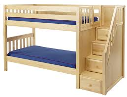 44 Bunk Bed With Stair Bunk Bed With Stairs Plans BED PLANS DIY