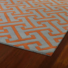 image of orange rug cover