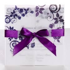 classic purple gate fold ribbon wedding invitations ewri004 as low Make Gatefold Wedding Invitations classic purple gate fold ribbon wedding invitations ewri004 as low as $1 69 diy gatefold wedding invitations