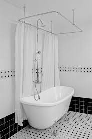 astonishing clawfoot tub shower at hlbt59shpk 59 hotel collection french bateau and