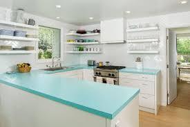 turquoise laminate countertops