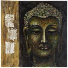 pier 1 buddha wall art evokes wisdom