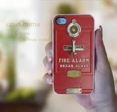 fire alarm box iphone 4 iphone 4 case iphone 4s case iphone cover