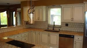 Of Glazed Cabinets Glazed Kitchen Cabinets Cream Glazing Kitchen Cabinets For