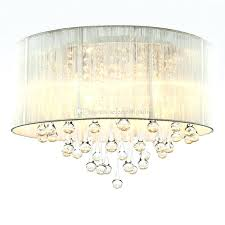 fabric shade pendant light modern drum pendant light fabric shade rain drop crystal chandeliers 6 lights bulb crystal lamp light fixture exterior pendant