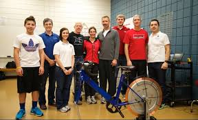 Faculty, Students Help Cycling Team Prepare for Cross-Country Race |  University of Arkansas