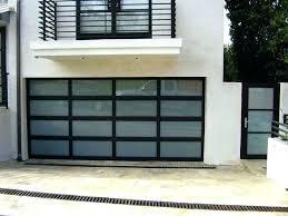 glass garage doors cost insulated of aluminum com reviews toronto