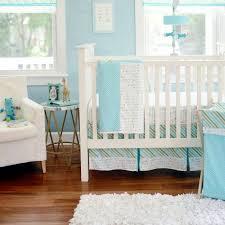 follow your arrow in aqua 3 piece crib bedding set
