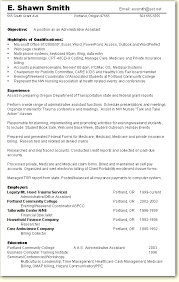 Resume Objective Administrative Assistant Examples Examples Of Resumes