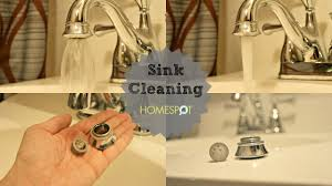 Sink Maintenance: Faucet Aerator and Drain Cleaning - YouTube