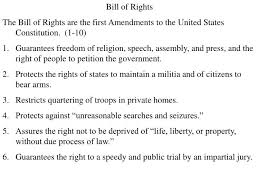 Bill Of Rights Powerpoint Ppt Bill Of Rights Powerpoint Presentation Id 6568850