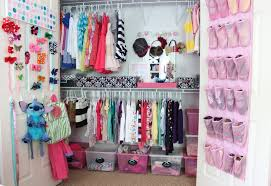 Small Picture Pretty In Wall Closet For Little Girls Design Ideas Complete