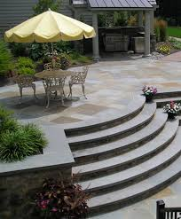 ... Curved Outdoor Stairs by Joanne Kostecky Garden Design, Inc. | by  Landscape Design Advisor